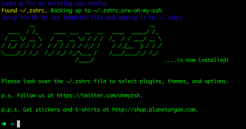 Setting up Oh-my-Zsh (Zsh) - Ivo's Blog!